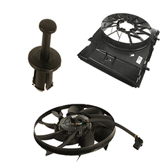 Cooling Fan Clutch And Motor
